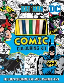 NEW-Batman-Comic-Colouring-Kit on sale