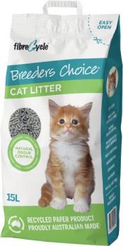 Breeders-Choice-Cat-Litter-15-Litre on sale