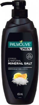 NEW-Palmolive-Men-3-in-1-Wash-With-Citrus-Natural-Mineral-Salt-450mL on sale