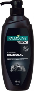 NEW-Palmolive-Men-Shower-Gel-With-Natural-Charcoal-450mL on sale