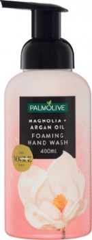 NEW-Palmolive-Foaming-Hand-Wash-Magnolia-Argan-Oil-400mL on sale