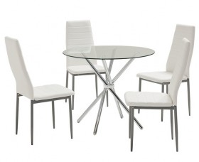 Pinto-5-Piece-Dining-Set-with-Zara-Chairs on sale