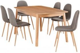 Retro-7-Piece-Dining-Set-with-Samba-Chairs on sale