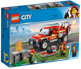 LEGO-City-Fire-Chief-Response-Truck-6-60231 on sale