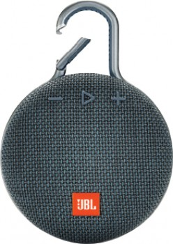 JBL-Clip-3-Portable-Bluetooth-Speaker-Blue on sale