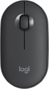 NEW-Logitech-Pebble-Compact-Wireless-Mouse-Graphite on sale