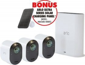 Arlo-Wire-Free-Ultra-HD-4K-Triple-CCTV-System on sale