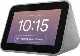 Lenovo-Smart-Clock-with-Google-Assistant on sale