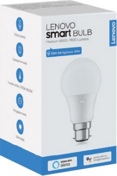 Lenovo-White-Smart-Bulb-B22 on sale
