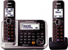 Panasonic-DECT-Cordless-Phone-Twin-Pack on sale