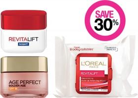 Save-30-on-LOral-Paris-Skincare-Range on sale