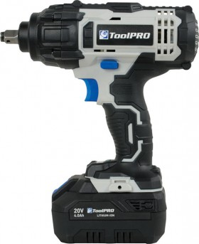ToolPRO-20-Volt-Impact-Wrench-Kit on sale