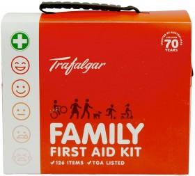 Trafalgar-Family-126-Piece-First-Aid-Kit on sale