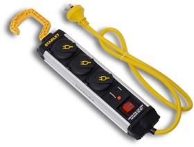NEW-Stanley-3-Way-with-Hook-Powerboard on sale
