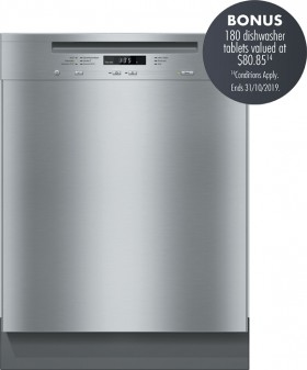 Miele-60cm-Cleansteel-Built-Under-Dishwasher on sale