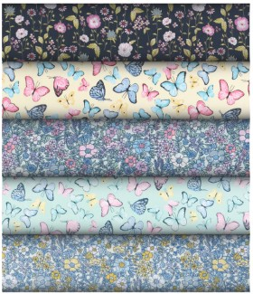NEW-Print-Poly-Cottons on sale