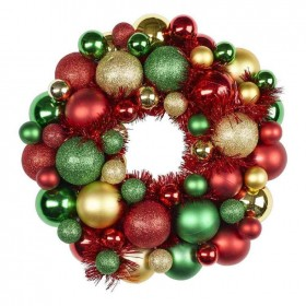Jolly-Joy-Decorate-Traditional-Wreath-33cm on sale