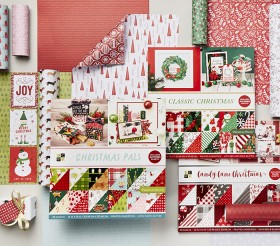 DCWV-Christmas-Paper-Pads-Packs-Range on sale