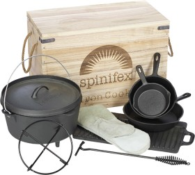 Spinifex-Cast-Iron-Cook-Set on sale