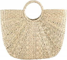 Womens-Woven-Basket-Bag on sale