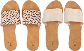 Womens-Single-Band-Slides on sale