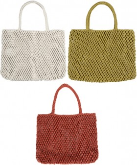 Womens-Macrame-Tote on sale