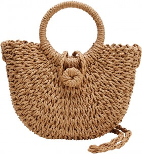 Womens-Mini-Basket-Bag on sale