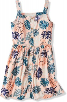 Kids-Sleeveless-Button-Front-Dress on sale