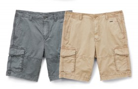 Allgood.-Fixed-Waist-Cargo-Shorts on sale