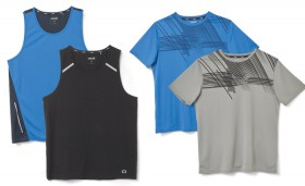 Circuit-Active-or-Contrast-Singlets-Graphic-Crew-Neck-Tees on sale