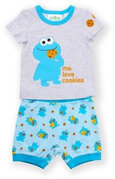 Sesame-Street-Cookie-Monster-Pyjama-Set on sale