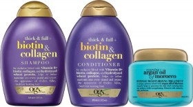 OGX-Shampoo-or-Conditioner-385ml-or-Treatments on sale