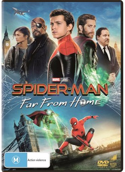 Spider-Man-Far-From-Home-DVD on sale