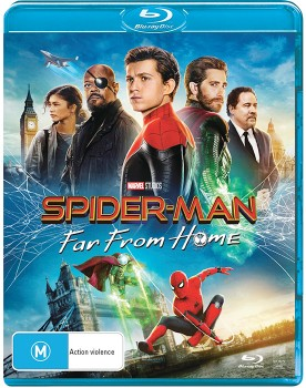 Spider-Man-Far-From-Home-Blu-Ray on sale