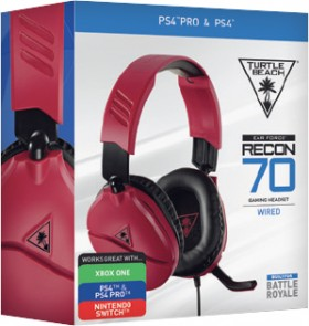 Turtle-Beach-Recon-70-Red-Gaming-Headset on sale