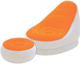 Bestway-Air-Chair-and-Foot-Stool on sale