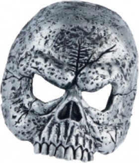 Halloween-Soft-Mask-Silver on sale