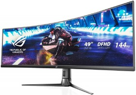 Asus-ROG-49-WQHD-Curved-144Hz-Freesync-Strix-Gaming-Monitor on sale