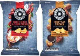 Red-Rock-Deli-Potato-Chips-150g-165g on sale