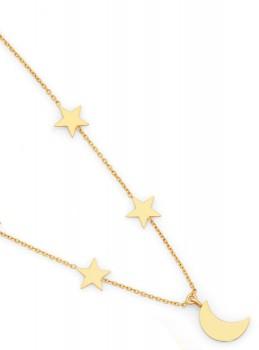 9ct-Gold-45cm-Necklet on sale
