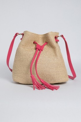 Woven-Duffle-Bag on sale