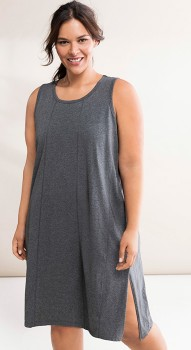 Sara-Longline-Sleeveless-Nightie on sale