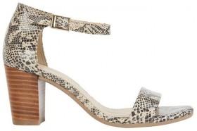 Sandler-Beyond-Snake-Print-Sandals on sale