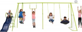 Action-Sports-8-Station-Swingset on sale