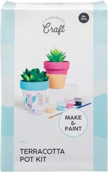Handmade-Craft-Terracotta-Pot-Kit on sale