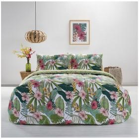 House-Home-3-Piece-Maui-Pink-Comforter-Set on sale