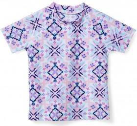 Wave-Zone-Printed-Short-Sleeve-Rash-Vest on sale