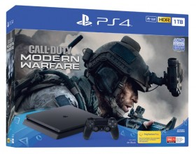 PS4-1TB-Slim-Call-of-Duty-Modern-Warfare-Console-Bundle on sale