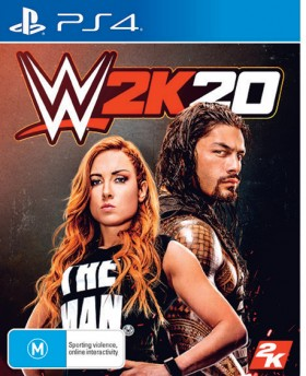 NEW-PS4-WWE-2K20 on sale