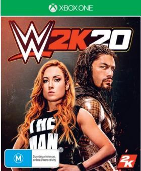NEW-Xbox-One-WWE-2K20 on sale